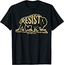 ALT US National Park Resist Service T shirt Bison Vintage