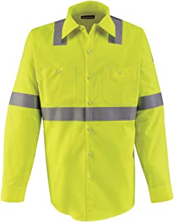 Bulwark FR mens Bulwark® Men's Midweight FR Hi-Visibility Work Shirt Shirt (pack of 1)