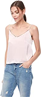 Bershka Cami & Strappy Tops For Women, PINK, Size M
