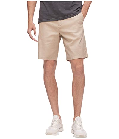 Calvin Klein Linen Refined Casual Shorts (Plaza Taupe) Men