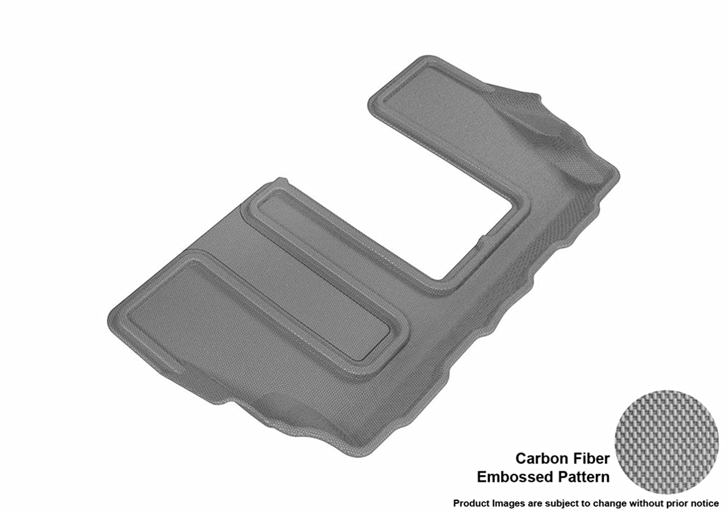 忘れられないスモッグ貫通3D MAXpider L1GM02131501 R3 Kagu Floor Mat for GMC Acadia 2017, Gray