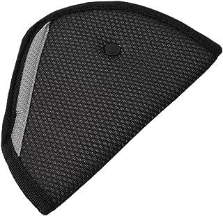 HUJK シートベルト 枕 ショルダーパッド シートベルトパッド シートベルト 枕 車用品 チャイルドシートチャイルドシート ストッパー ショルダーパッド 旅行 安全 (ブラック)