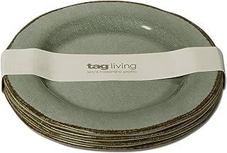 Quest TAG Veranda Melamine Salad Plate Set of 4 Slate Blue
