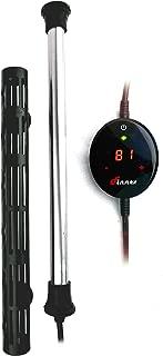 Finnex Digital Touch Control Aquarium Titanium Heater with Guard