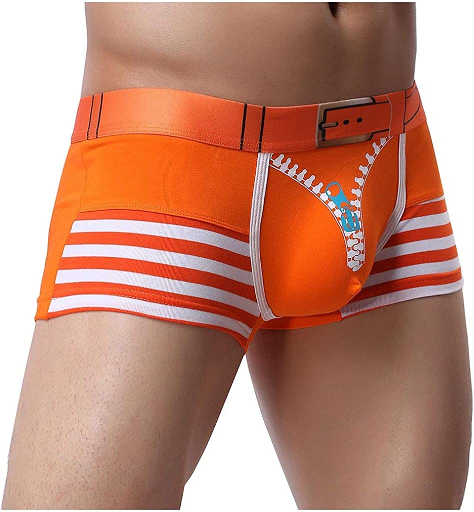 MODOQO Men's Underwear Boxer Briefs Soft Breathable Shorts