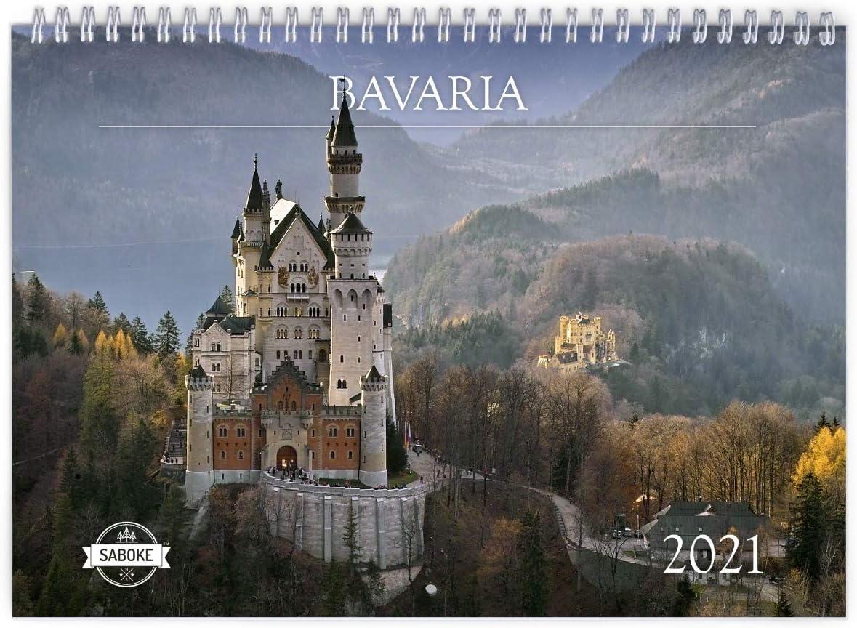 Bavaria 2021 Super-cheap Wall Free Shipping New Calendar