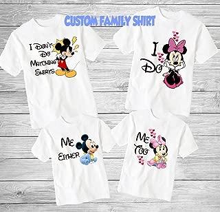 funny family disney shirts
