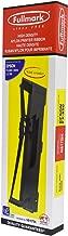 Fullmark N617BK High Density Nylon Printer Ribbon with Ink Tank Compatible Replacement for Epson FX 890/890N/LQ 590, S015329, Black, 10 Pcs
