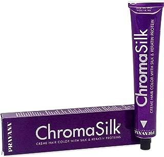 PRAVANA ChromaSilk Creme Hair Color with Silk & Keratin Protein, 7 Blonde