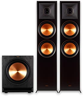 Klipsch RP-8000F 2.1 Home Theater Bundle with SPL-120 Sub Ebony