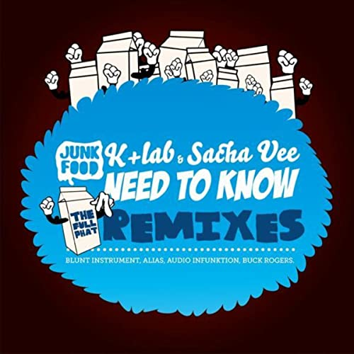 Need to know (The Full Phat Remixes) by Sacha Vee K+lab on