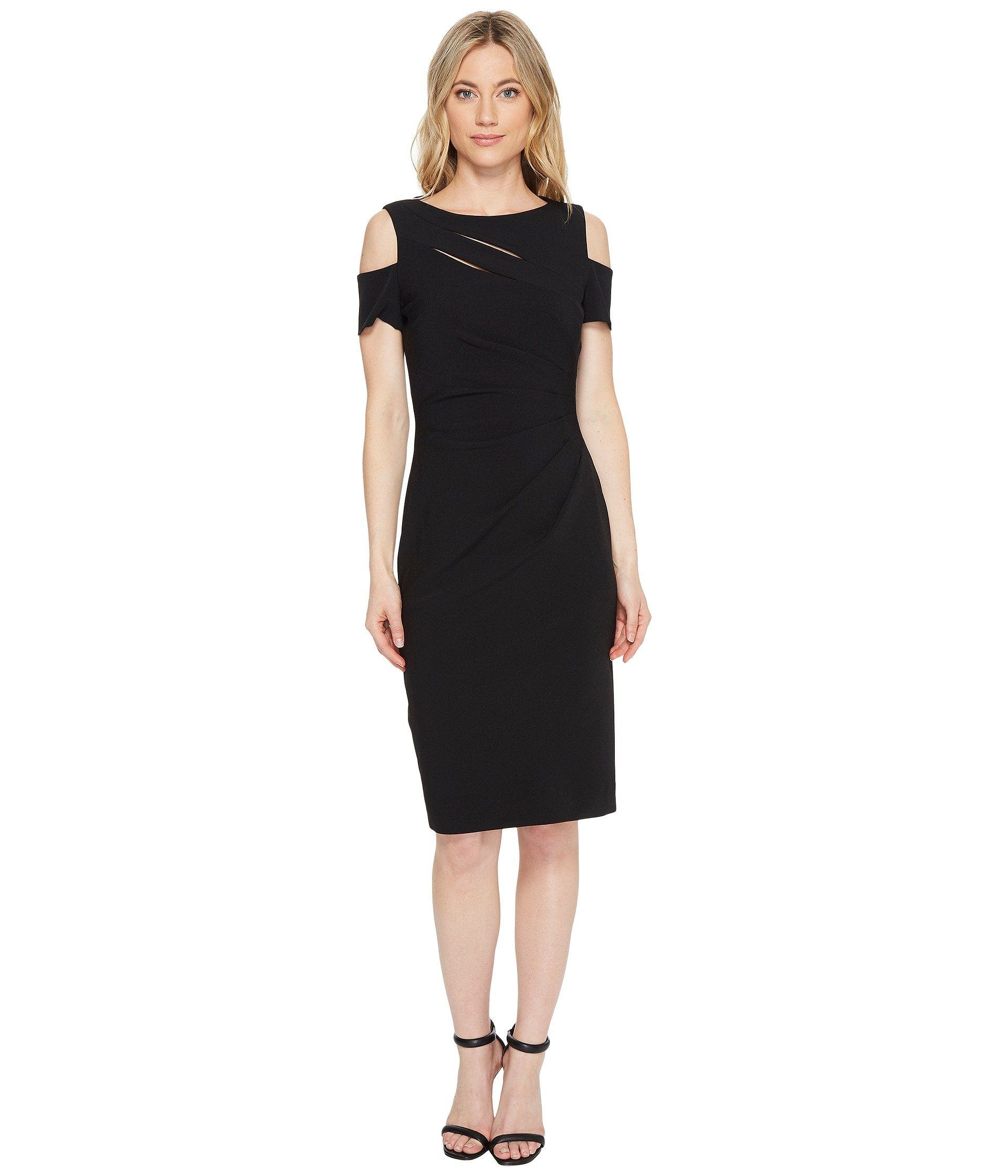 Mariu sequin shift dress in black