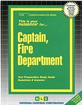 Captain Fire Department (Career Examination Passbooks)