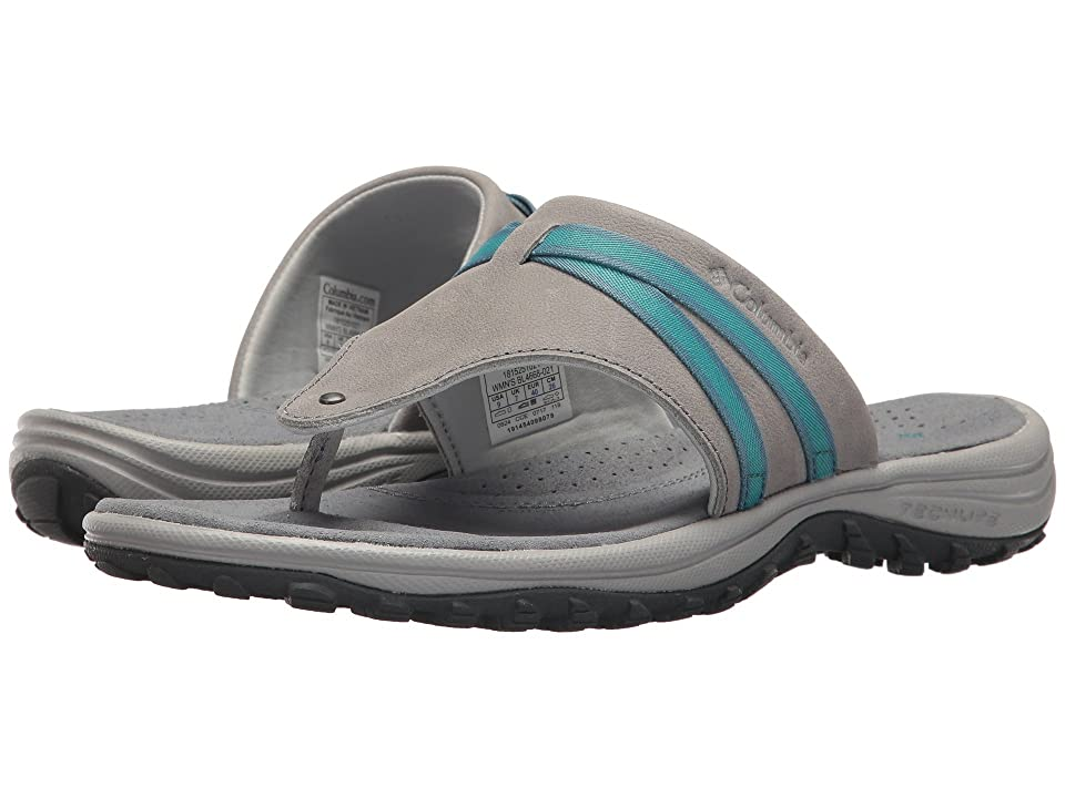 Columbia Santiam Flip (Grey Ash/Pacific Rim) Women