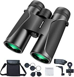 muson Binoculars for Adults 12X42 HD Binoculars with Clear and Bright View for Bird Watching/Concert/Sports/Hiking/Hunting...