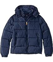 Shiny Iridescent Fashion Hooded Jacket (Little Kid/Big Kid)