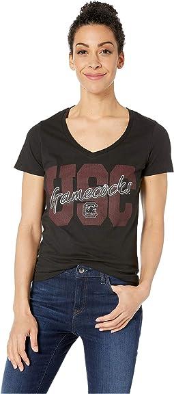 South Carolina Gamecocks University V-Neck Tee