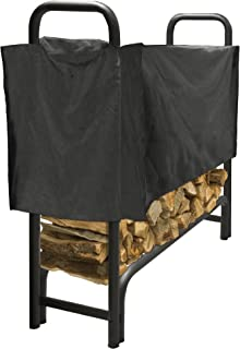 Pleasant Hearth - Premium Heavy Duty Log Rack Cover, 4 Feet, Short Cover