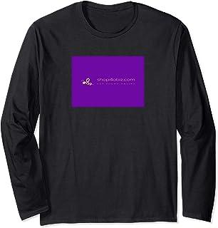 Shop4aBiz.com website promotional logo on garment Long Sleeve T-Shirt