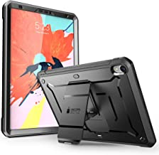 iPad Pro 12.9 Case 2018, SUPCASE [UB Pro Series] with Built-In Screen Protector Heavy Duty Full-Body Rugged Protective Case for iPad Pro 12.9 Inch 2018 Release (Not Support Pencil Charging) (Black)