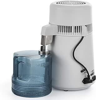 SHZOND 4L Pure Water Distiller 750W All Stainless Steel Internal Purifier Filter