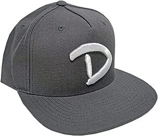 OG D Snapback Cap, Grey
