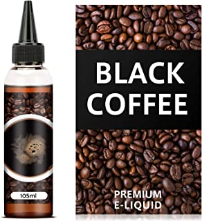 電子タバコ リキッド ブラックコーヒー 大容量 ミントメンソール10ml付き 自作でブレンド可能 リアルフレーバー 独自製法 115ml DBL