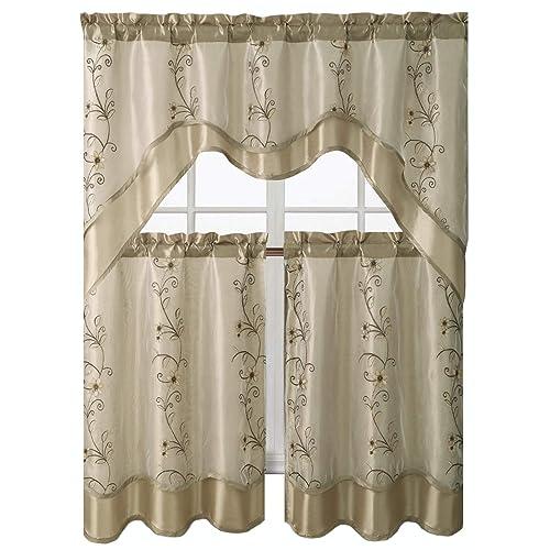 Kitchen Curtains Set: Amazon.com