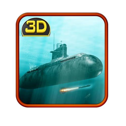 Submarino russo: Marinha de guerra 3D