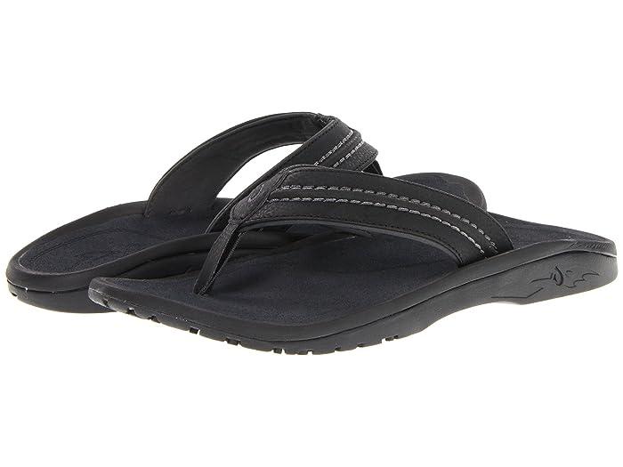 Hokua  Shoes (Black/Dark Shadow) Men's Sandals