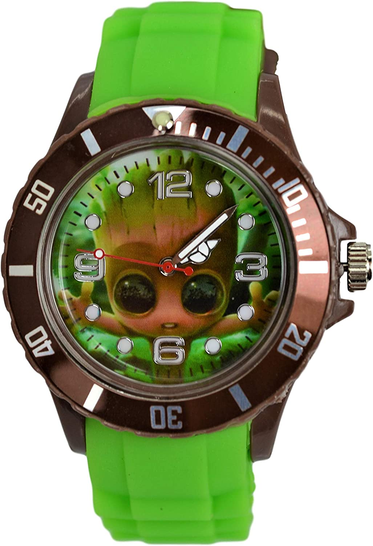 Unisex Groot Analog Watch Wrist Max 65% OFF Quartz Fees free!!