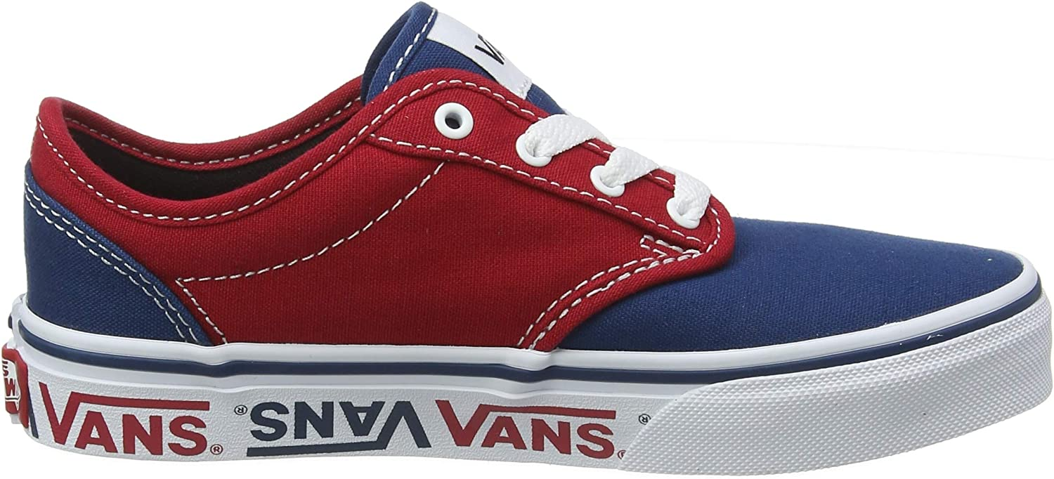 Amazon.com   Vans Boys' Atwood Canvas Classic Trainers   Sneakers