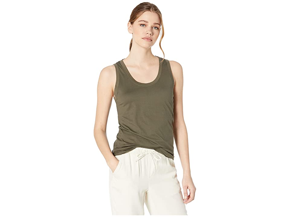 Image of AG Adriano Goldschmied Cambria Tank (Ash Green) Women's Clothing