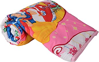 Home Spaces Cartoon Character Kids Single Bed Reversible AC Dohar/Blanket (Single, Multicolour)