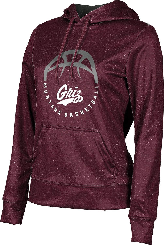 ProSphere University of Montana Basketball Girls' Pullover Hoodie, School Spirit Sweatshirt (Heather)