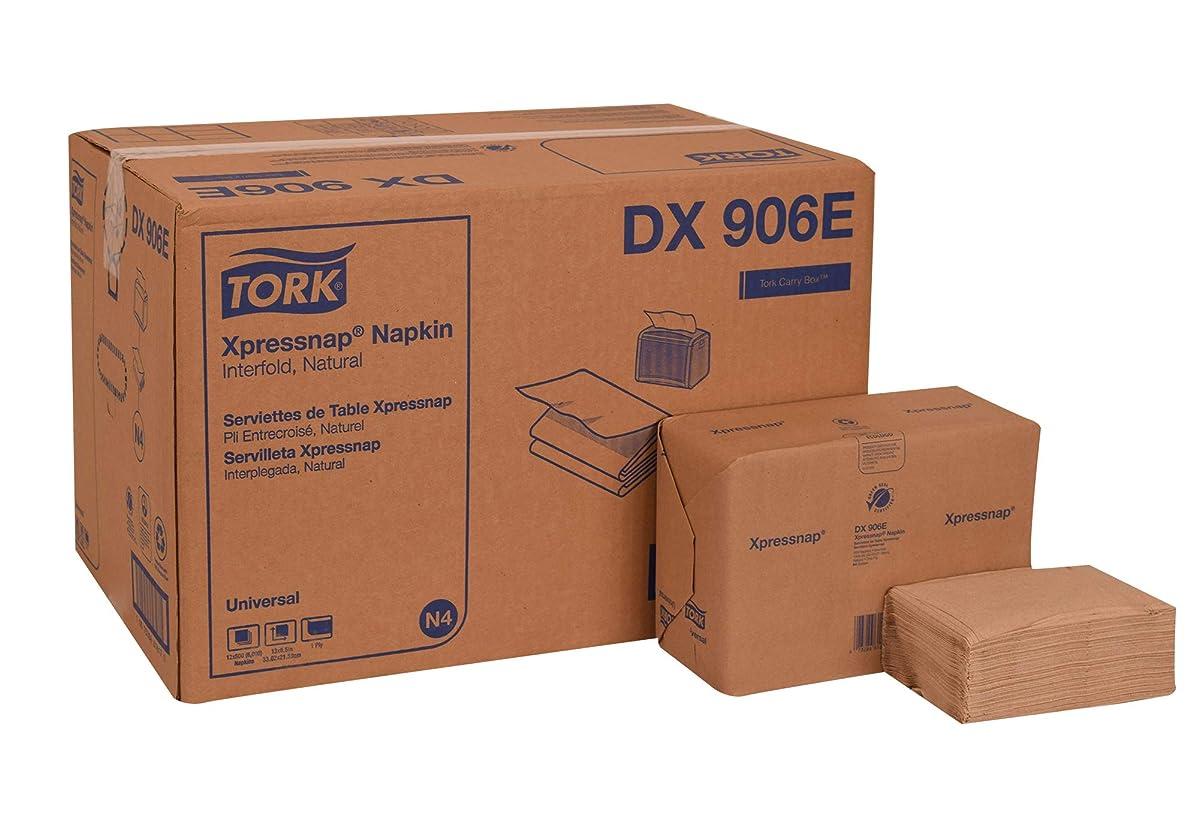 Tork DX906E Universal Xpressnap Dispenser Napkin, Interfold, 1-Ply, 8.5