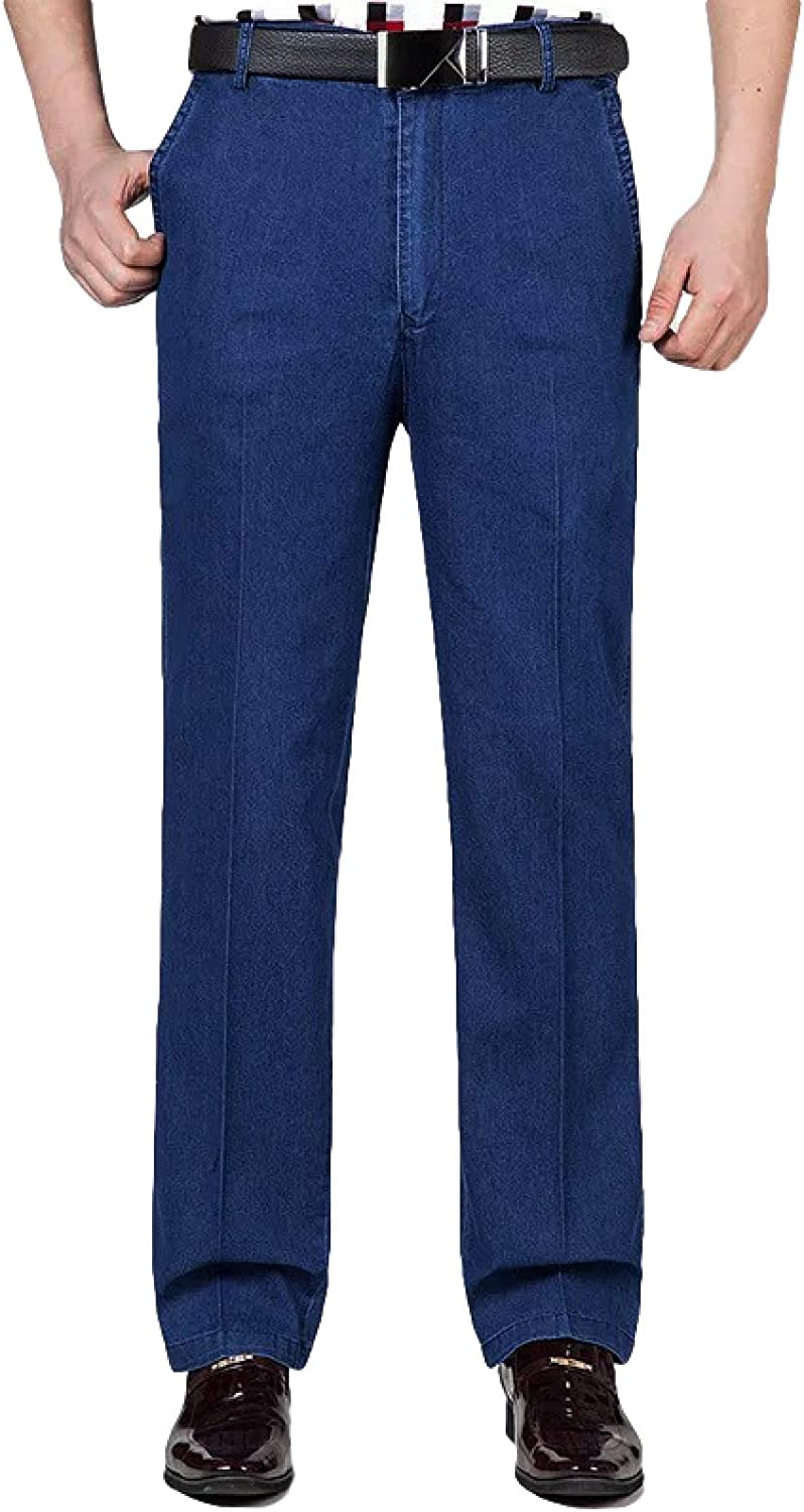 Dallas Mall Jubaton Youth Solid Color Men's Jeans Thin Summer and Max 65% OFF Spring Sec