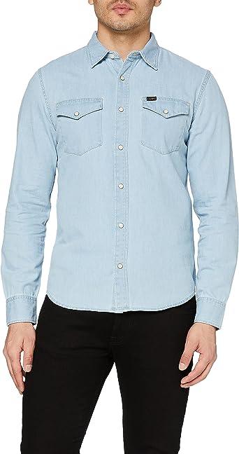 Lee Clean Western Shirt Camisa Vaquera para Hombre