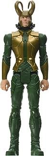avengers marvel titan hero series 12 inch loki figure