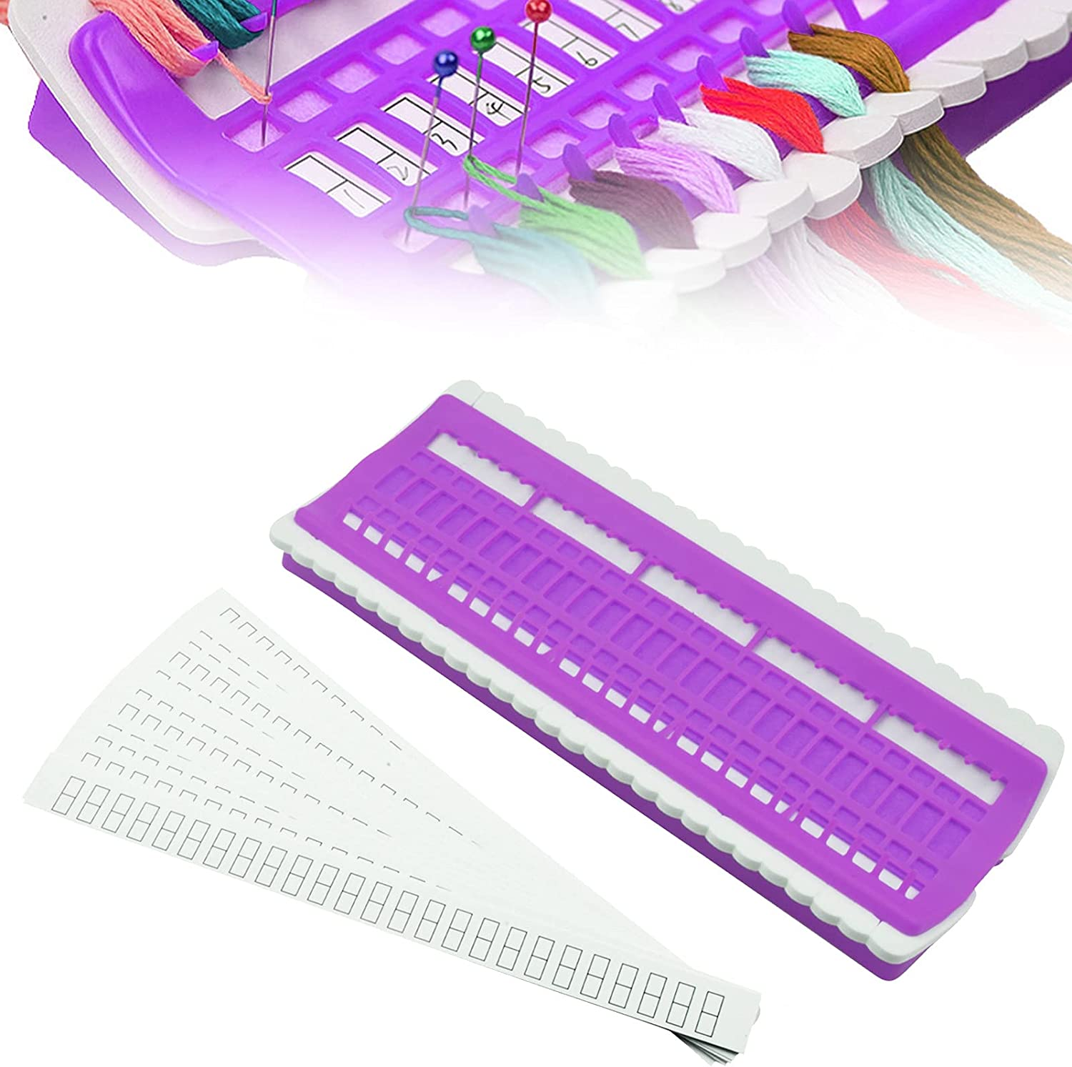 50 online shop Super Special SALE held Positions Embroidery Floss Upgraded Organizer Thread Organiz