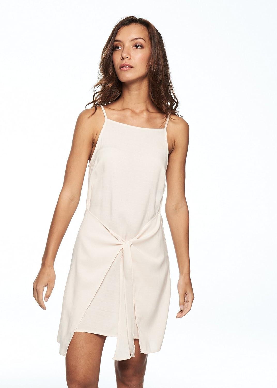 Island Tie Front Dress (White)