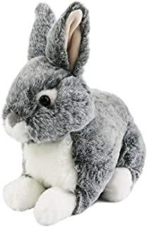 Lazada Easter Bunny Rabbit Stuffed Animal Realistic Rabbits Soft Toys Great Easter Gifts Cuddles Brown 10 L x 5 W x 9 H