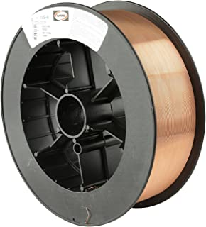 Harris E70S6E8 ER70S-6 MS Spool with Welding Wire, 0.030 lb. x 33 lb.
