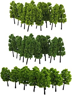 ho z n échelle fleur arbre modèle 20 pièces pour train chemin de fer parc