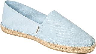 41-46 Handmade in Spain weltenmann Klassische Herren Slip-on Espadrilles aus Baumwolle mit Schuhbeutel