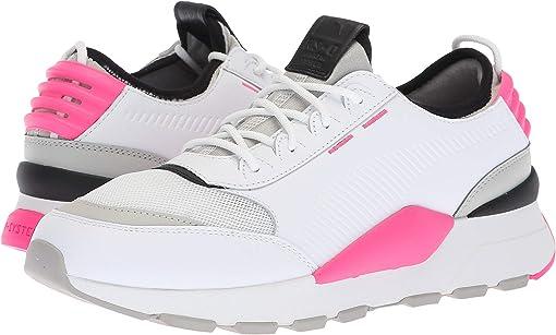Puma White/Gray Violet/Knockout Pink