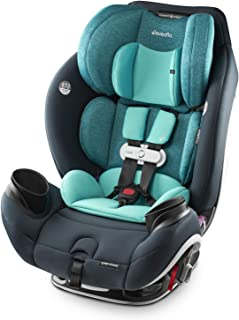 Evenflo Gold SensorSafe EveryStage Smart All-in-One Convertible Car Seat, Use for 10 Years, Harness Sensor Syncs Automatic...