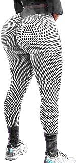 INSTINNCT Sexy High Waist Yoga Pants Tummy Control Leggings Workout Running Butt Lift Tights for Women