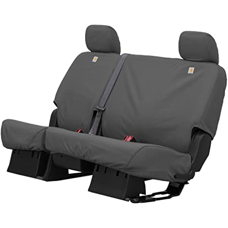 Duck Weave SSC3437CAGY Carhartt SeatSaver Front Row Custom Fit Seat Cover for Select Chevrolet//GMC Models Covercraft Gravel