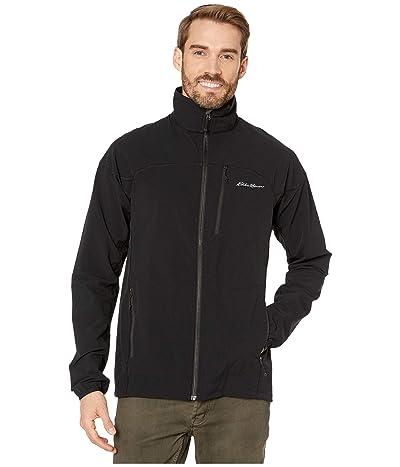 Eddie Bauer Sandstone Softshell Jacket Tall (Black) Men